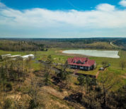 Custom Ranch Home With Picturesque Hilltop Views Near Lindale