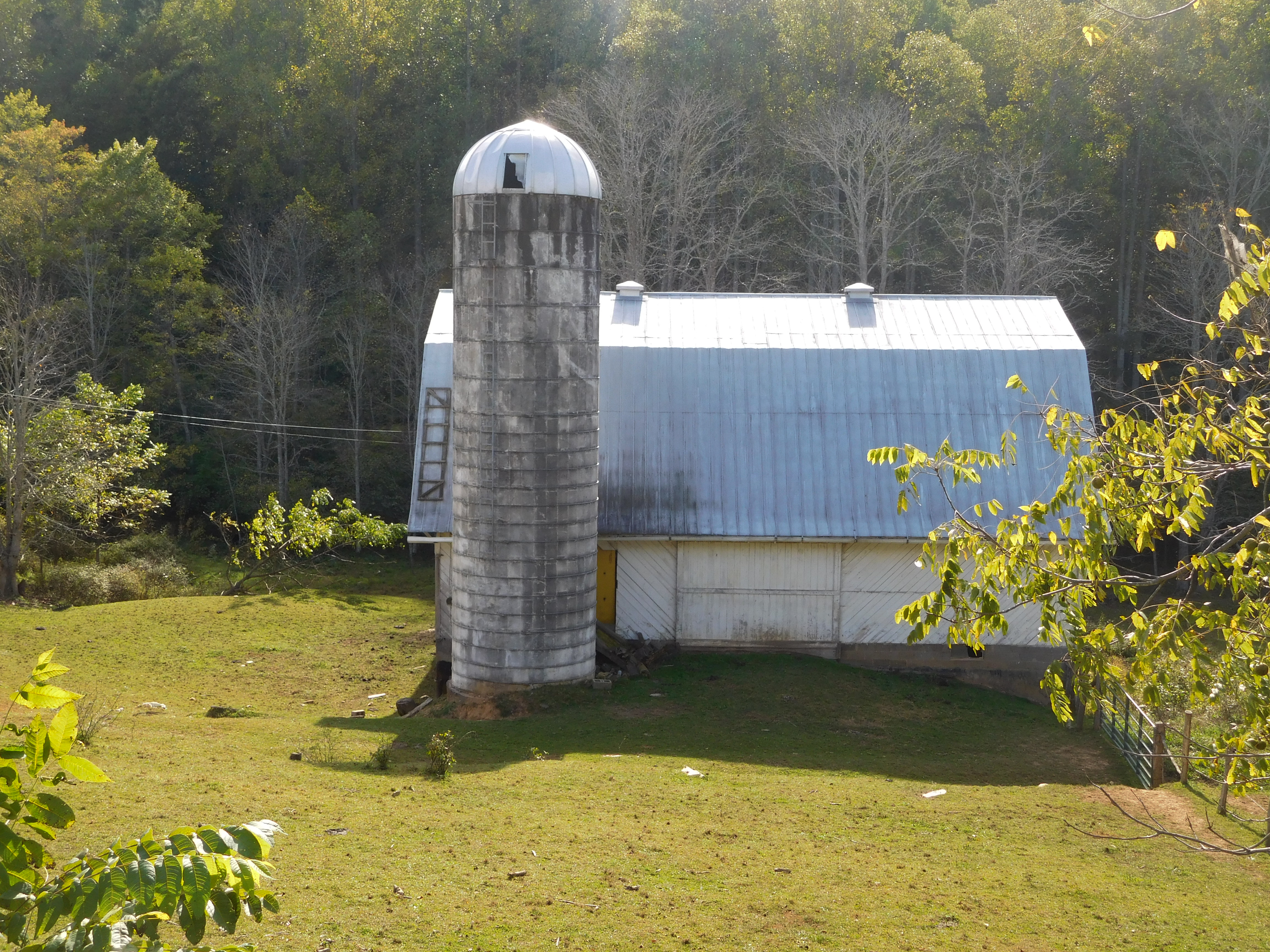 Yancey NC95_007-Old-Barn-and-Silo