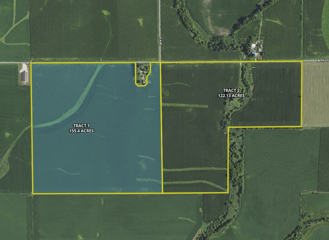 Fayette IA 277 53 grosse tract 1 hilight