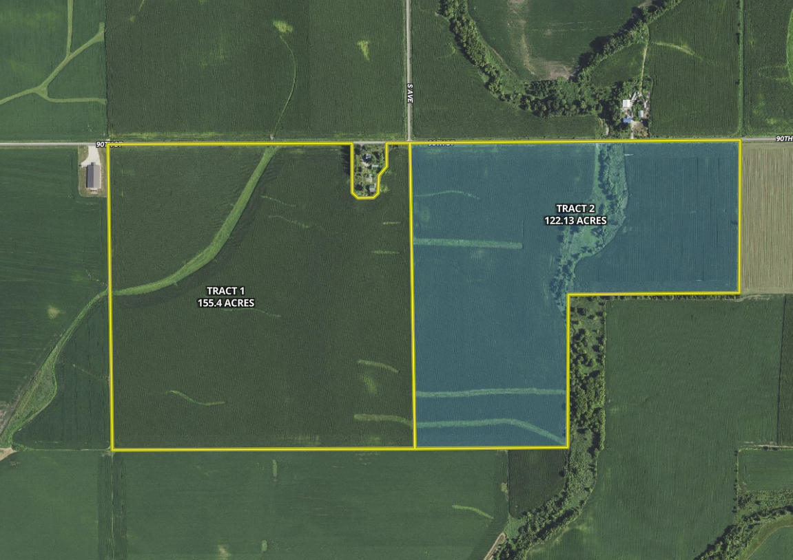 Fayette IA 277 53 grosse tract 2 hilight
