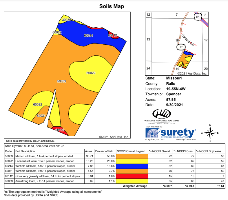 Tract 3 Soil Map