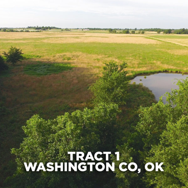 Rolling Pasture Ground With Pond And Building Site Near Tulsa