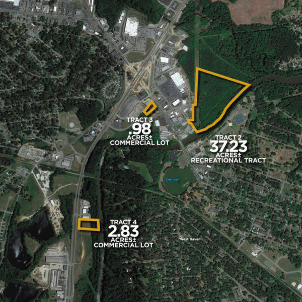 ONLINE ONLY - Timbered Rec Land, Development And Commercial Tracts In Rocky Mount
